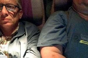 avocatul Girorgio Destro inghesuit de un supraponderal